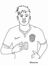 Coloring Neymar Pages Rock Star Drawing Soccer Coloriage Step Getcolorings Selection Player Imprimer Colorier Et Bresil Printable Getdrawings Template sketch template
