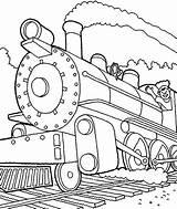 Train Steam Coloring Engine Trains Machinist Drawing Locomotive Pages Printable Drawings Print Getdrawings Getcolorings Netart sketch template