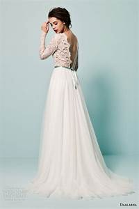 daalarna couture 2015 wedding dresses pearl bridal With skirt and top wedding dress
