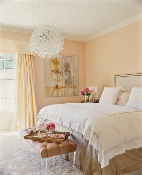 chambre peche die wandfarbe apricot 35 ideen und tipps zum kombinieren