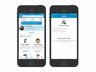 Linkedin Nearby Feature Connect Help Wersm