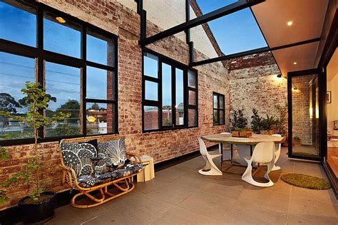 warehouse turned home touch of new york loft style warehouse conversion in melbourne
