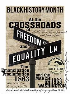Crossroads of Freedom & Equality | TEACHLEARNWONDERDO