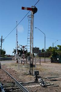 Signals  Crane And Subway  Charters Towers Railway Station