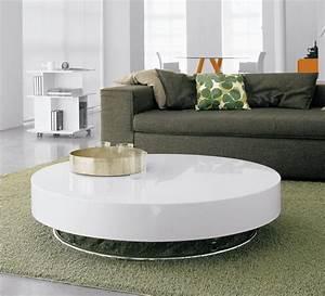 Couchtisch Oval Weiß Hochglanz : couchtisch wei rund oval verschiedene ideen f r die raumgestaltung inspiration ~ Whattoseeinmadrid.com Haus und Dekorationen