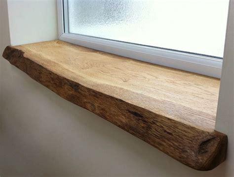 Window Sill Edging by Live Edge Repertoire Wood Oak Window Sill Wood Window