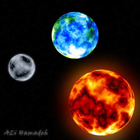Sun Earth Moon Sun Moon Earth By Sniperali On Deviantart