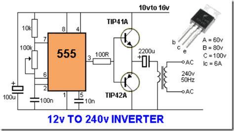 Cool Electronics Circuits Inverter