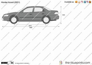 Honda Accord Vector Drawing