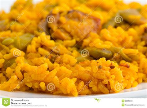cucina spagnola paella paella spagnola fotografie stock immagine 28246163