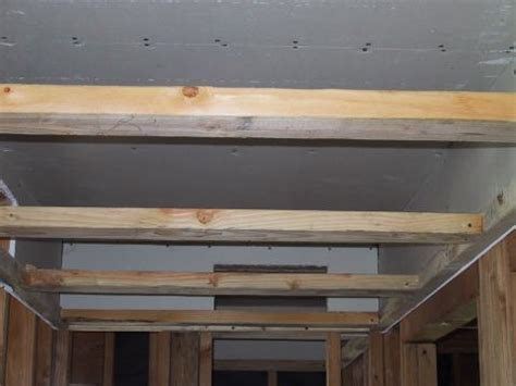 Dropped Soffit Ceiling by Dropped Ceiling Soffit Below Unconditioned Attic