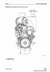 Komatsu Diesel Engine 6d140