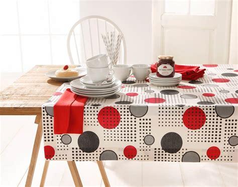 Tisch Mit Tischdecke by Tischdecke Mit Punkten Kaufen Otto