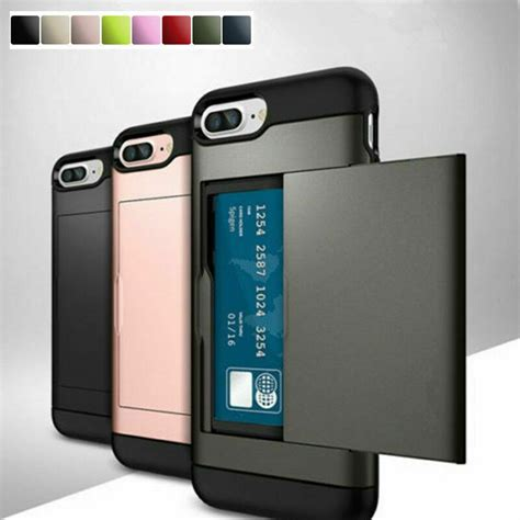 To make your life even best cases for the iphone 8 plus, according to customer reviews. Shockproof Wallet Credit Card Pocket Holder Case Cover For ...