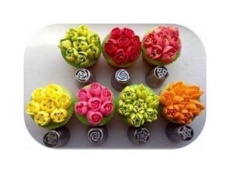 cakes decorated with russian tips details about diy 7pcs russian icing piping nozzles pastry