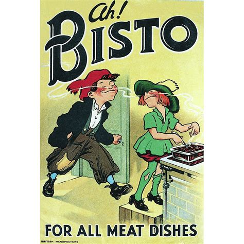 cuisine retro vintage ah bisto for all dishes retro postcard