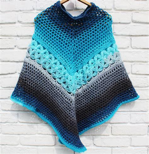 crochet poncho pattern crochet pattern  mandala