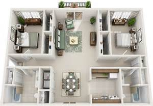 One Bedroom Apartments Murfreesboro by Two Bedroom Floor Plans Charleston Hall Apartments