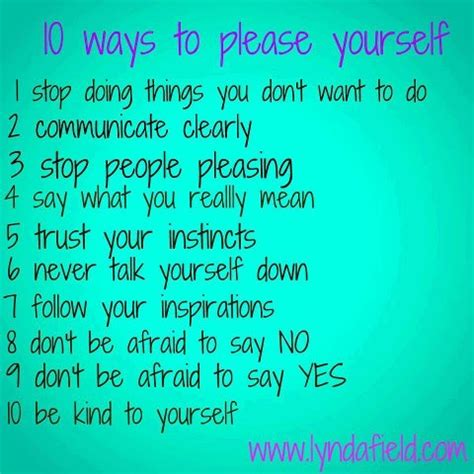 10 ways to yourself and this title doesn t