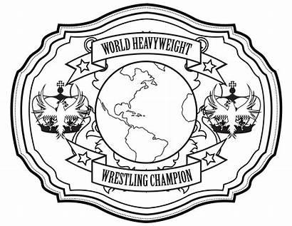 Belt Wrestling Drawing Activities Center Getdrawings