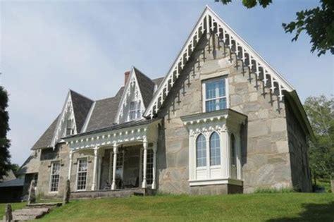 vermont gothic stone house circa  houses  houses