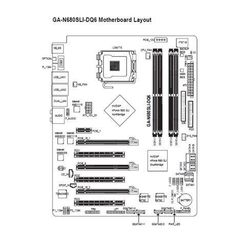 Motherboard Diagram Wiring Chart Connection Guide Basics