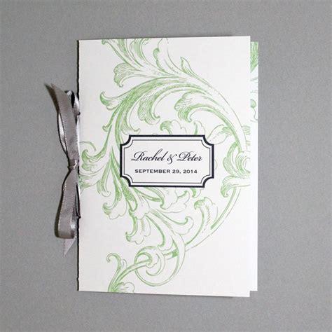 florid scroll  page program template  print