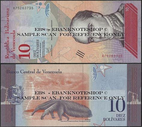 Vuelos baratos de venezuela a bolivia desde 563 € (04/09/20). Ebanknoteshop. Venezuela,P103,B373a,10 Bolívar Soberano, 2018,C