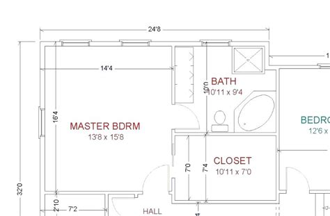 Master Bathroom Design Plans by Small Master Bathroom Layout Floor Plans Home Plans