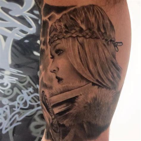 viking women tattoos