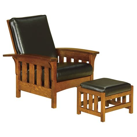Amish Morris Chair Recliner by Amish Chairs Recliners Amish Furniture Shipshewana