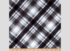 Kanvas Into the Woods Flannel Soft Plaid Gray Discount