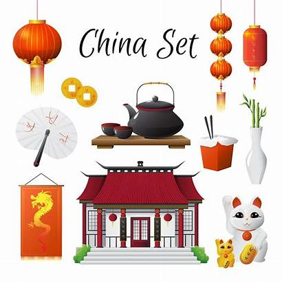Chinese Culture Symbols China Vector Cultural Traditions