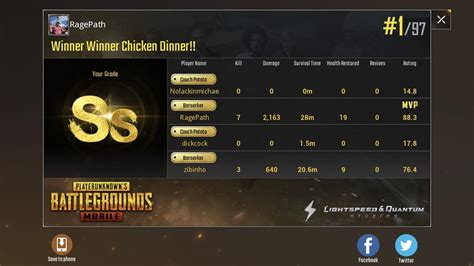 why can t we squad stats like pubg mobile