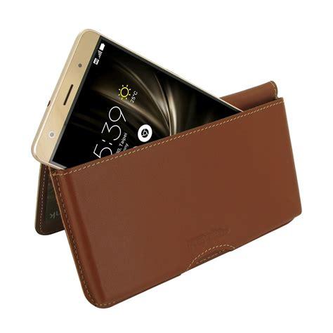 asus zenfone 3 deluxe wallet pouch brown pdair sleeve