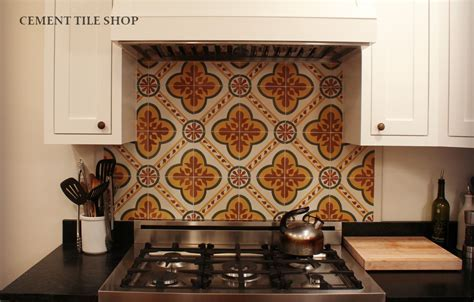 Custom Kitchen Backsplash ? Berkeley, CA   Cement Tile