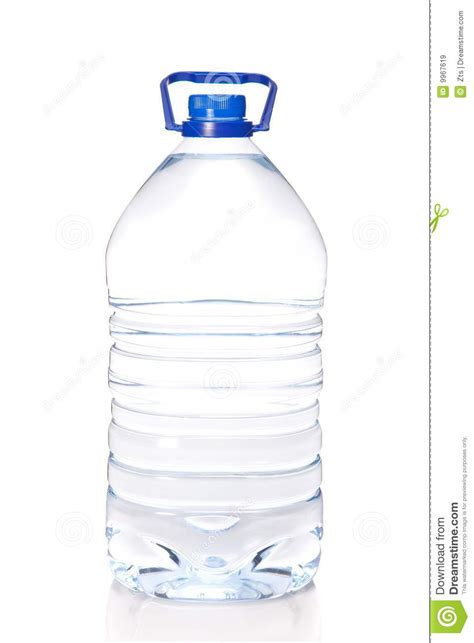 Large Bottle Of Mineral Water Isolated Royalty Free Stock Images   Image: 9967619