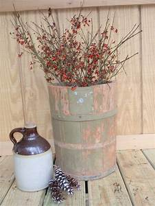 Antique bucket...