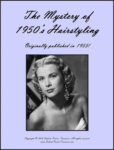 1955 Frisuren buchen illustrierte 50er Jahre Frisuren 50er
