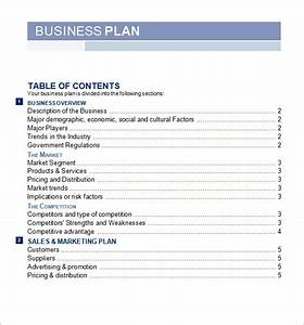 bussines plan template 29 download free documents in With preparing a business plan template