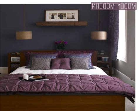 blue wall color combinations with purple colour home combo
