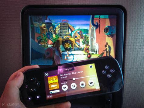 virgin atlantics   flight entertainment system