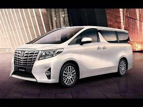toyota alphard hybrid luxury minivan youtube