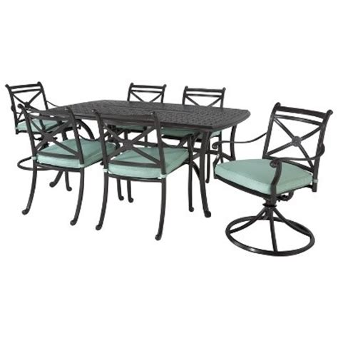 target smith hawken 174 edinborough metal patio furniture