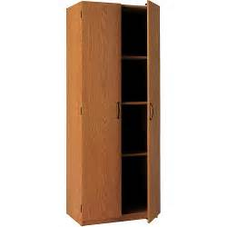 storage cabinet oak finish furniture walmart com
