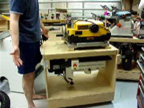 flip cart  planer  drum sander youtube
