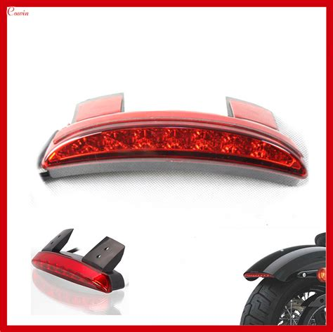 new universal motorcycle rear fender led light