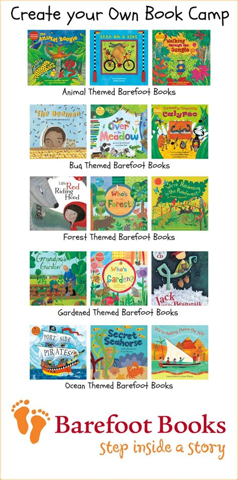Create Your Own Book Camp With Barefoot Books & Giveaway