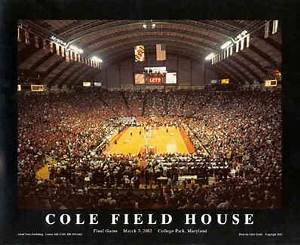 Cole Field House Framed football picture