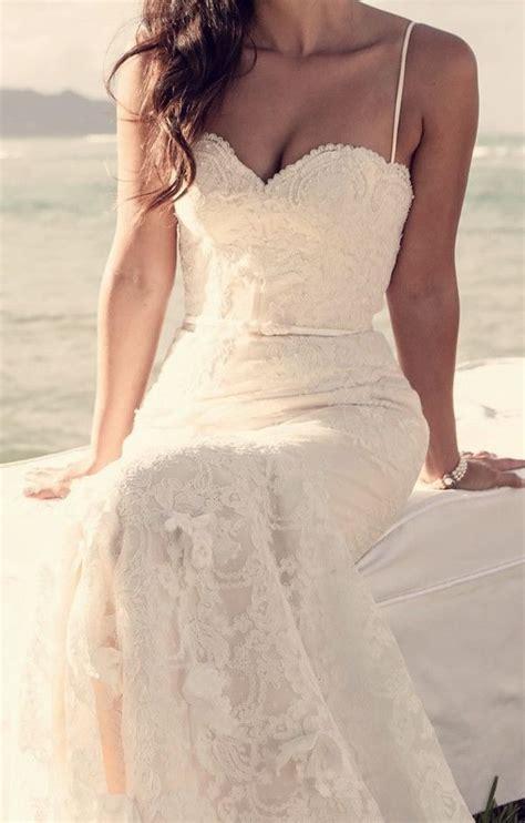 simple beach wedding dresses ideas